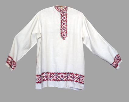 Русская народная рубаха для мальчика