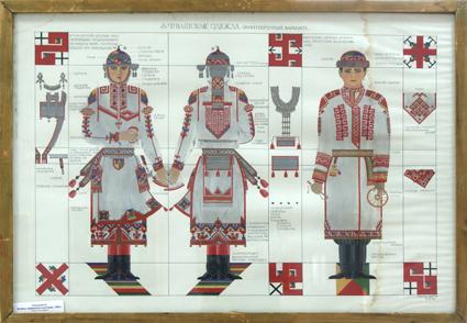 Эскизы чувашского